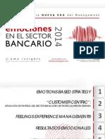Emociones en El Sector Bancario 2014