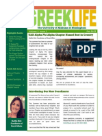 Fall 2013 UAB Greek Newsletter