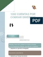 1202 Cuentas Por Cobrar Diversas