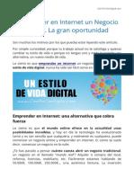 Emprender en Internet un Negocio Online. La gran oportunidad.pdf