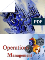 1 Introduction to Operations Mgt
