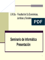 Seminario de Informática