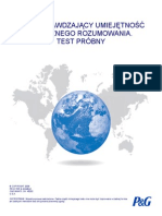 Polish - Practice Reasoning Test - 7.14.08