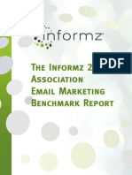 2012 Association Email Marketing Benchmark Report