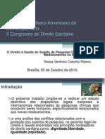 CONGRESSO SLIDES  IBERO DIREITO SANITÁRIO