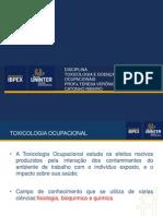 TOXICOLOGIA E DOENÇAS OCUPACIONAIS SLIDE 2