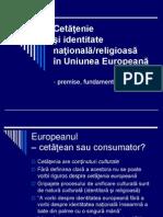 Cetatenie Si Identitate in UE