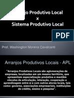 Arrajos Produtivos Locais - APLs