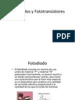 Fotodiodos y Fototransistores
