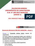 Formalizacion Minera