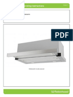 RangeHood Installation Operating
