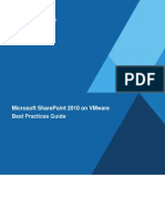 SharePoint 2010 Best Practices Guide