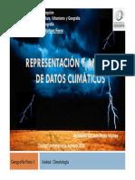 Presentación y Análisis de Datos Climáticos