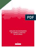 Análisis de escenarios de Cambio Climático en Asturias