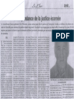 Affaire Woronko - L'indépendance de la justice écornée
