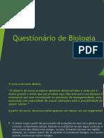 Questionário de Biologia.ppsx