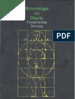 Metodologia Del Disenio-fundamentos Teoricos