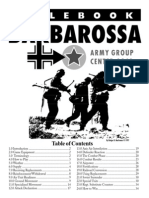 Barbarossa Army Group Centre Rules