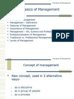 1.Nature of Management