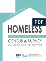 2013 Santa Cruz Homeless Survey