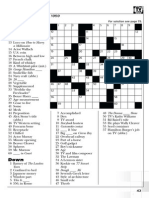 TV Guide Classic Crossword Puzzles