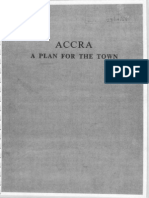 Accra Town Plan 1958