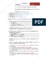 Fica de revisões 7º -2012-13 programa novo SOLUÇÕES