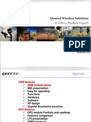 Training Quectel | Transmission Control Protocol | General Packet