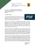 Posicionamiento PRD sobre Ley de Víctimas (reserva de artículos)