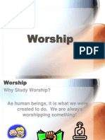 1 - Introduction to Worship