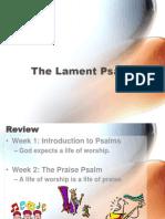 3 - The Lament Psalm