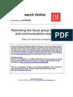 Focus Group-J Comm1996
