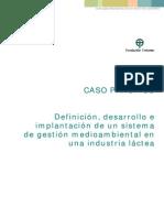 Caso Practico Plan de Gestion Medioambiental Industria Lactea