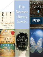 Five Fantastic Literary Novels in One Great Sampler!