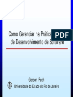 Gerenciar Desenvolvimento de Software