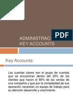 Administración de key accounts