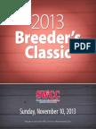 2013 Breeder's Classic Catalog