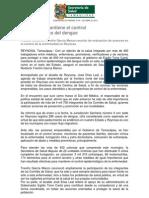 23-10-2013 'Comunicado Salud del Estado'