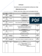 Programação CIFALE Detalhada