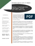 Transnacionales e impacto en comunidades locales