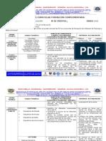 Estructura Curricular Tics 2013