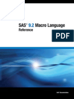 SAS Macro Language Reference