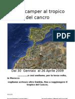AL TROPICO DEL CANCRO-MAROCCO 2009