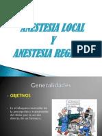 Anestésicos locales (2)