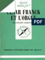 César Franck et l'orgue - François Sabatier