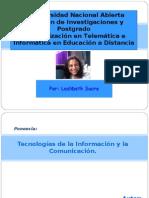 Tic. Unidad i. Sucre 2009