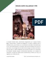 Pregón Semana Santa Valladolid 1995 (Joaquín Díaz)