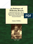 In Defense of Wilhelm Reich