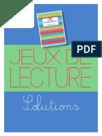 Lettres de Mon Noulin - Alphonse Daudet - SOLUTIONS JEUX
