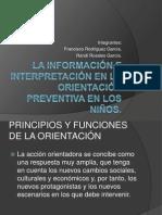La informacion e interpretacion en la orientacion preventiva en niños